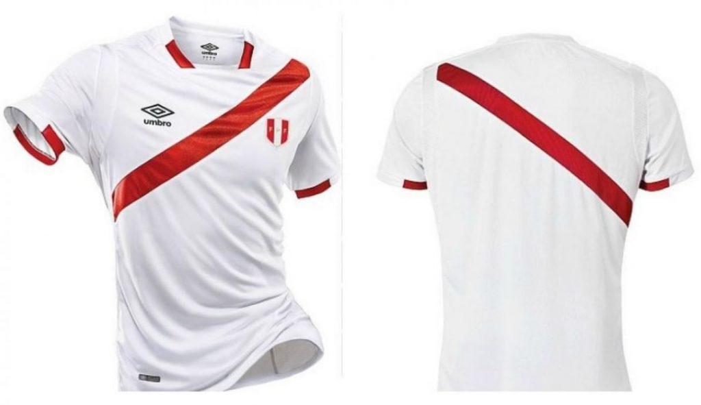 18f9de15a625c Camiseta de la Seleccion Peruana